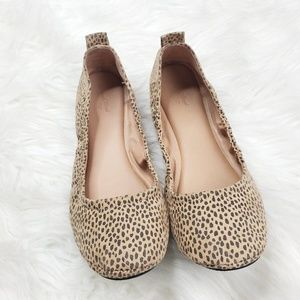 Universal Threads Cheetah Print Flats size 8